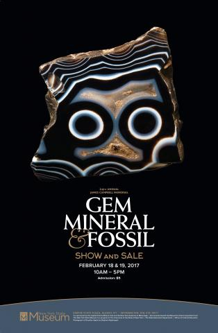 The 24th Annual James Campbell Memorial Gem, Mineral and Fossil Show and Sale
